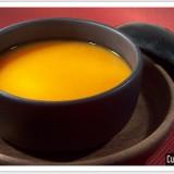 Soupe de potiron et carotte au gingembre
