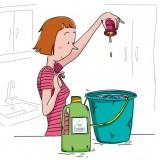 Moins de produits toxiques à la maison