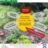 22 Mars 2019: Mon jardin avec mon guide Le Hérisson