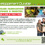 [commission DD] rdv le 16/04/19 – fabrication refuges à insectes