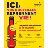 Consign'UP une association pour le réemploi des bouteilles en verre !