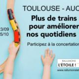 Toulouse-Auch, des trains pour améliorer nos quotidiens !