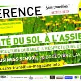1 Oct 2019: Conférence la santé du sol à l'assiette